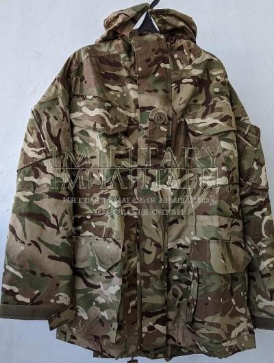 Куртка с непромокаемой дышащей подкладкой Smock Combat with waterproof and MVP liner, камуфляж MTP армия Великобритания новая