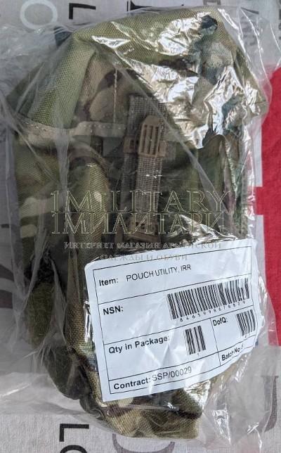 Подсумок plce Pouch, Utility, IRR в камуфляже MTP армии Великобритании