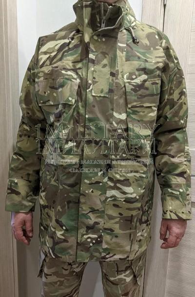 Куртка мембрана Gore-Tex MVP MTP непромокаемая с капюшоном армии Великобритании 180/112 с манжетами