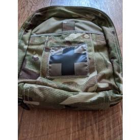 Подсумок медицинский OSPREY MK IV POUCH FIRST AID в камуфляже MTP армии Великобритании
