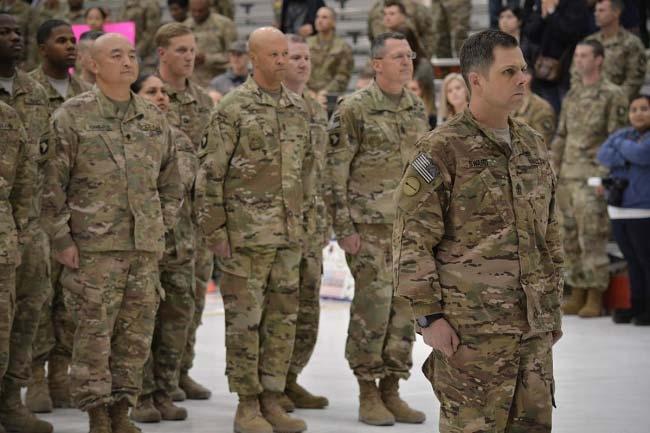 Солдаты американской армии в камуфляже Multicam